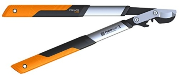 Fiskars Astscheren Getriebeastschere Bypass S - L x 92 PowerG, orange -