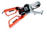Black + Decker 550W Elektro-Astschere Alligator, 10cm Schwertlänge, Sicherheits-Zweihandgriff, Klemmbackensystem, GK1000 -